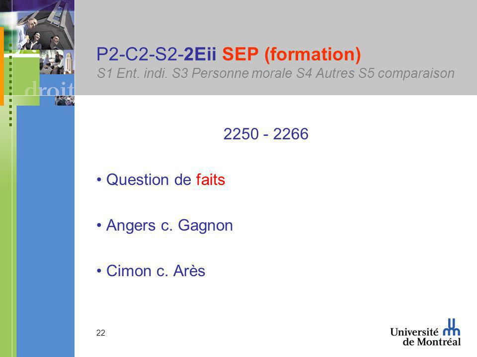 22 P2-C2-S2-2Eii SEP (formation) S1 Ent. indi.