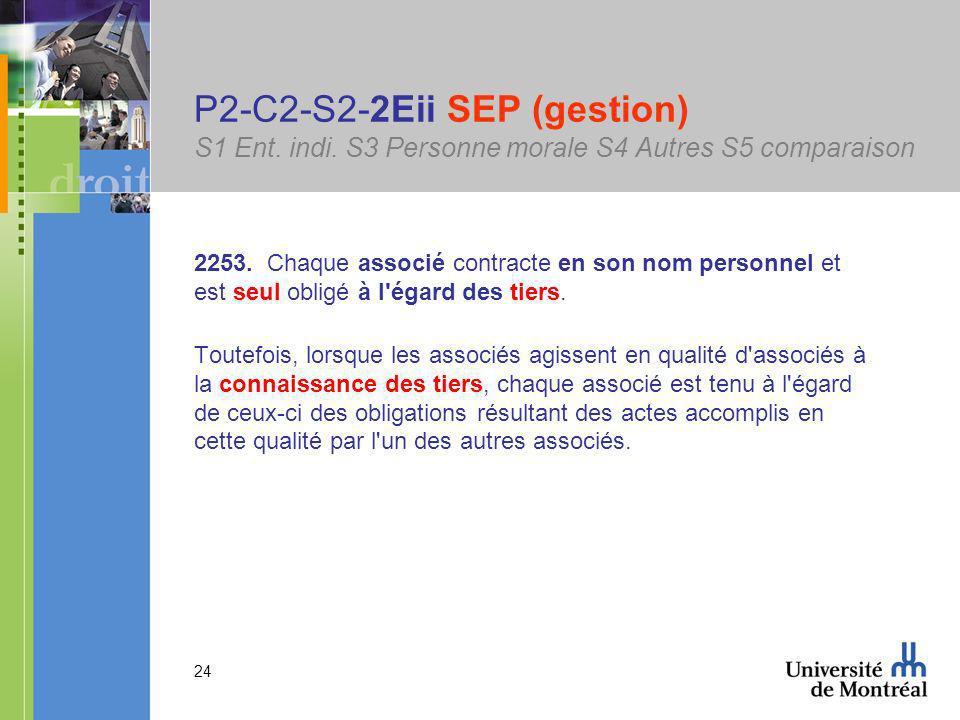 24 P2-C2-S2-2Eii SEP (gestion) S1 Ent.indi. S3 Personne morale S4 Autres S5 comparaison 2253.