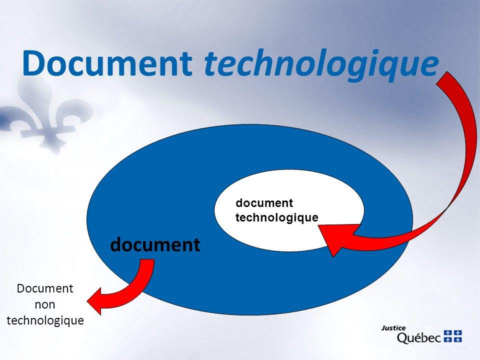 Document technologique document technologique document Document non technologique
