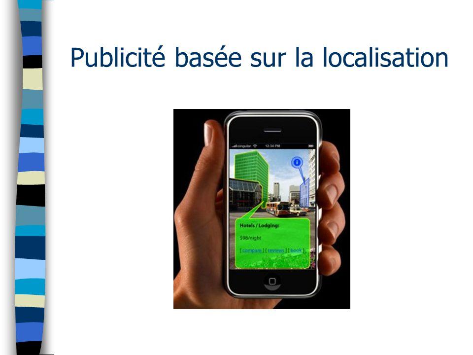 Publicité basée sur la localisation