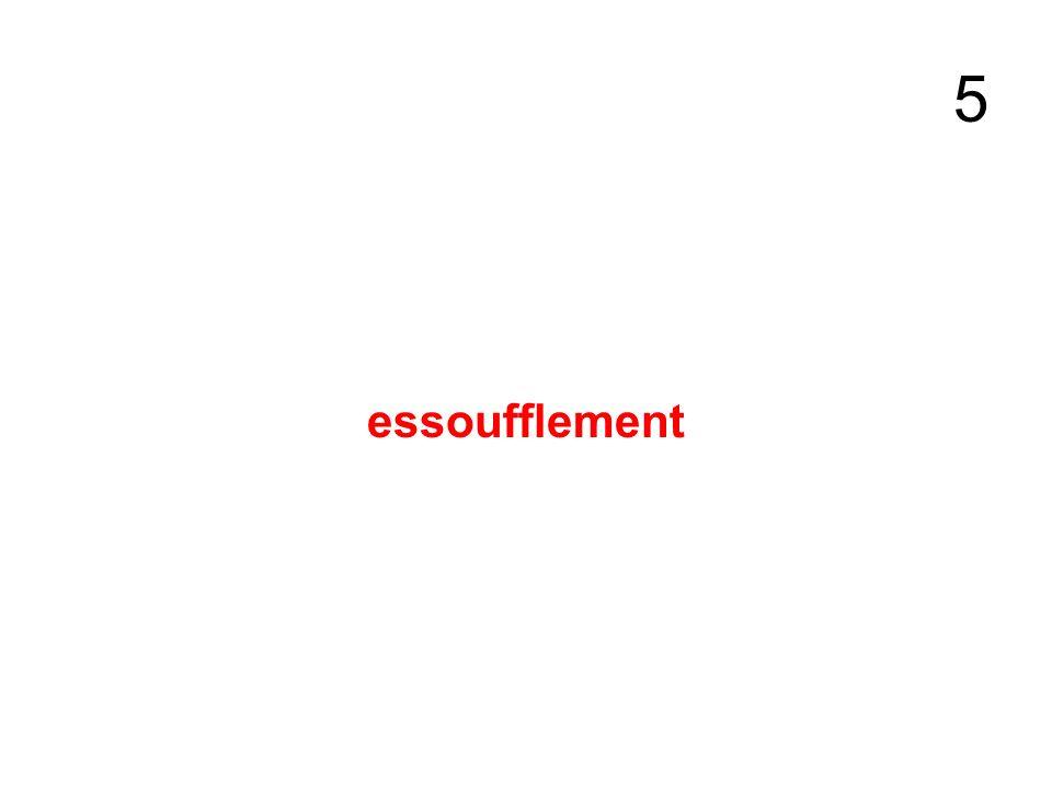 5 essoufflement