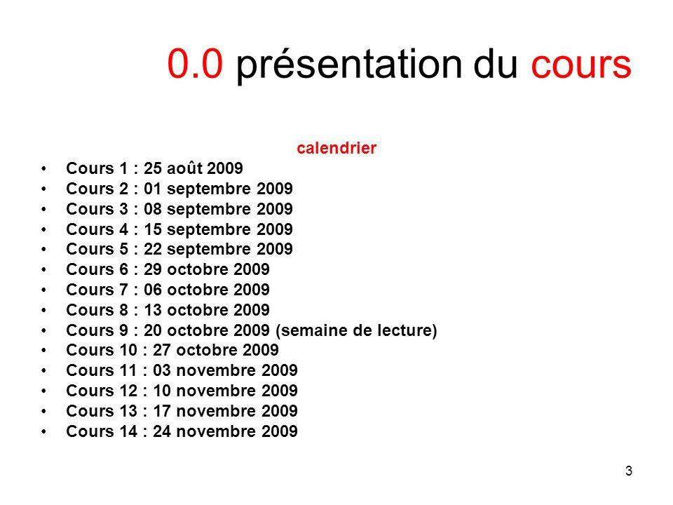 4 0.0 présentation du cours Évaluation voir http://www.gautrais.com/-DRT-6903-http://www.gautrais.com/-DRT-6903- 5 billets de blogue 40% Participation 10% Twitter 10% Papier final (take-home) 40% Attention au plagiat