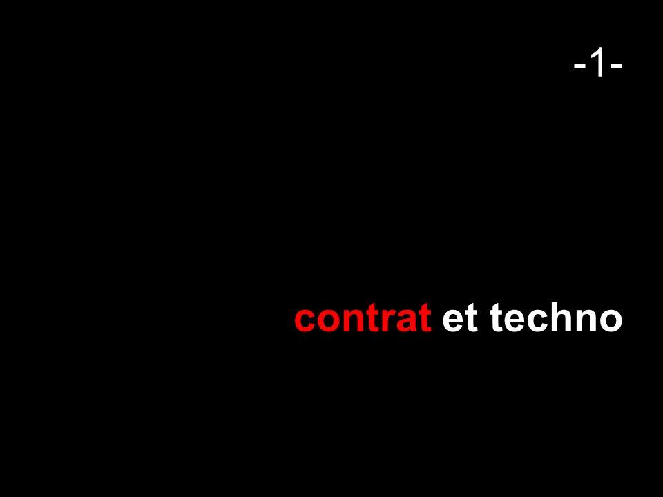 -1- contrat et techno