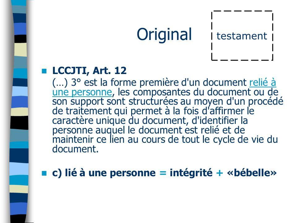 Original LCCJTI, Art.