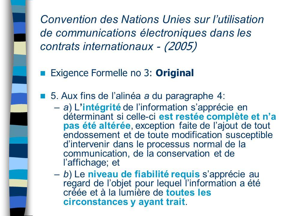 Formation du eContrat Normalement: Offre + acceptation 1386 CCQ.