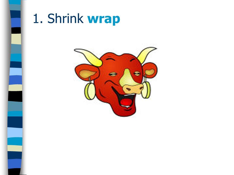 1.Shrink wrap - jurisprudence Canada: - North American Systemshops Ltd.