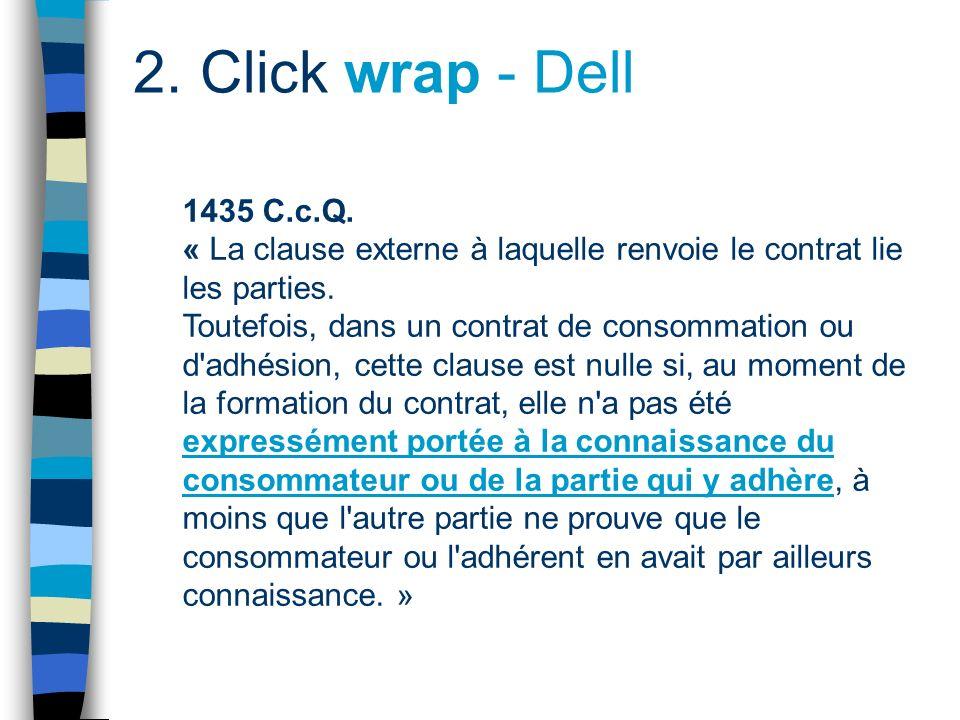 2. Click wrap Click 1