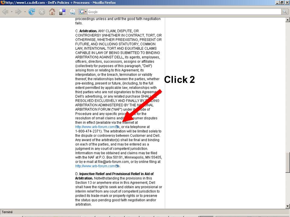 2. Click wrap Click 3