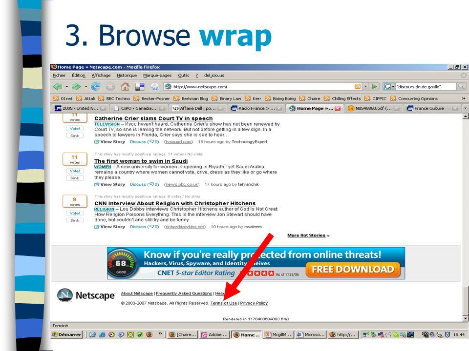 3. Browse wrap