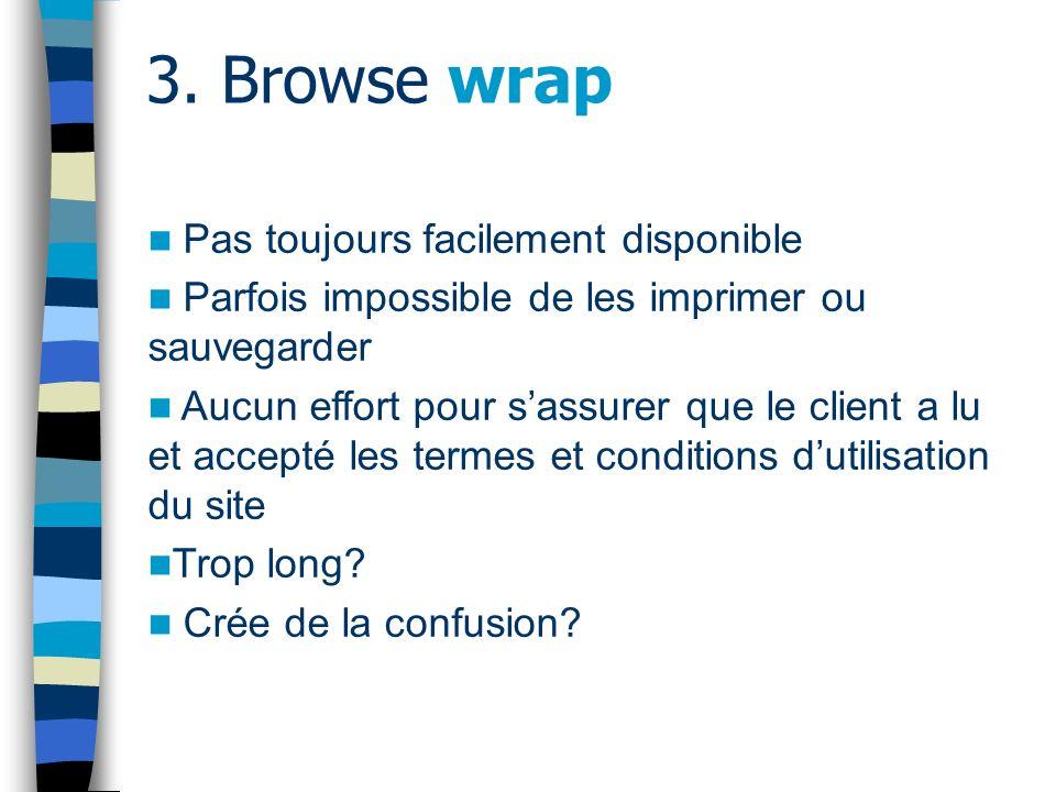 3.Browse wrap - jurisprudence CANADA Canadian Real Estate Association v.