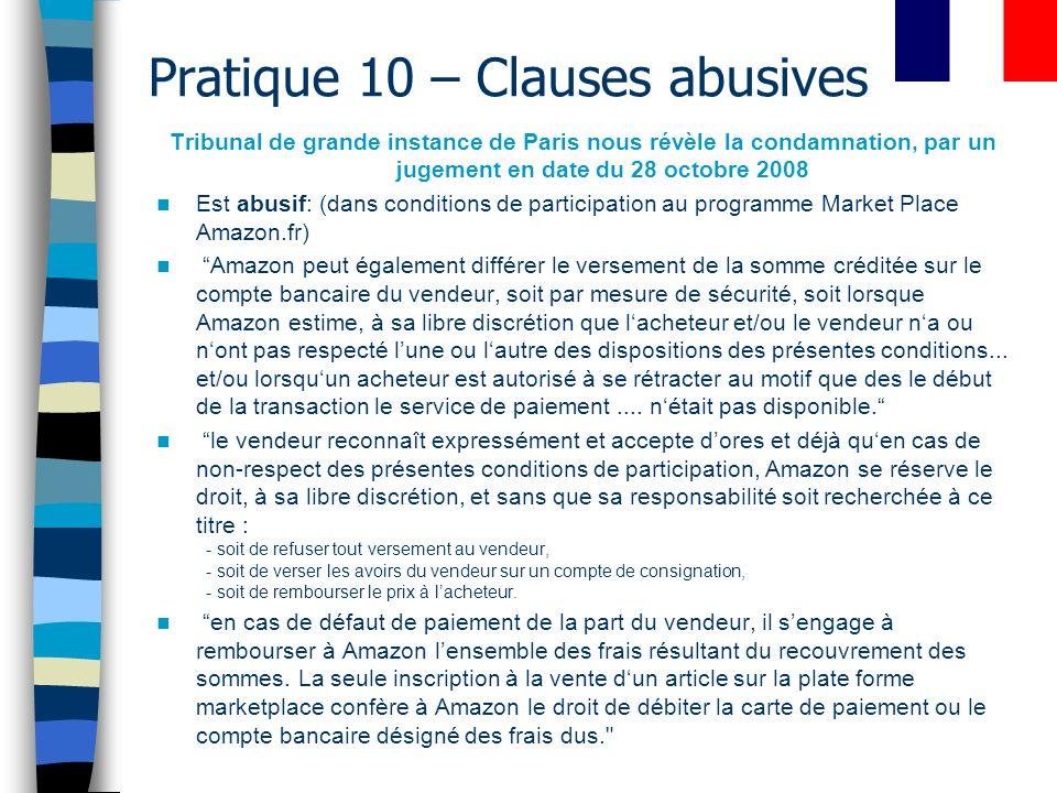 Attention.(ou Une chance?) Clauses abusives ….. 1438 C.c.Q.