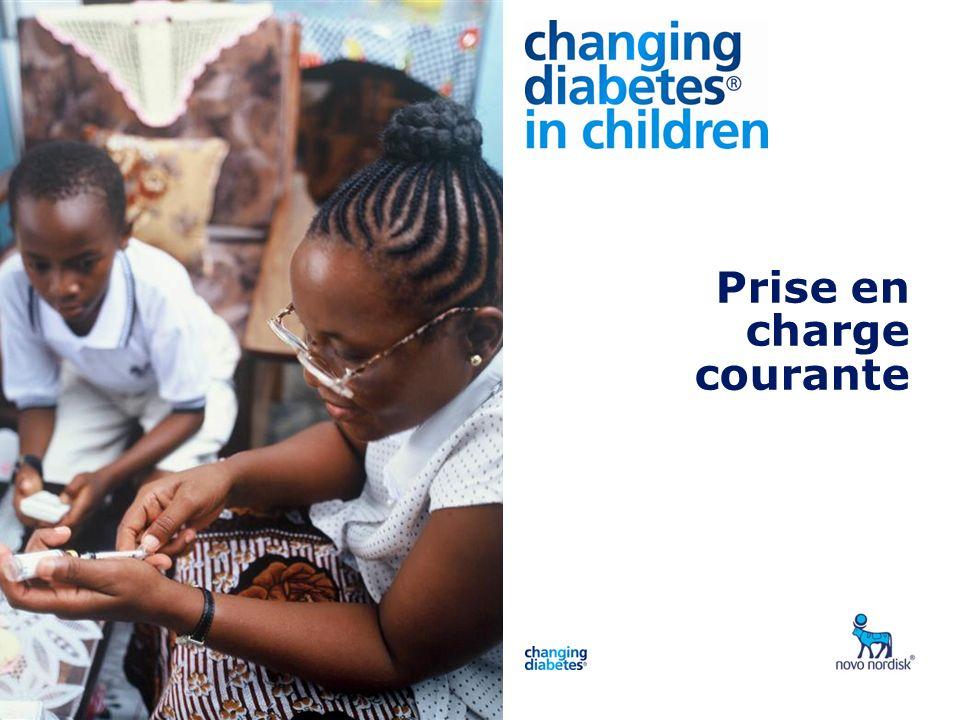 1 2 4 3 5 6 Principes de la prise en charge Indicateurs de qualité des soins Utilisation de l HbA1c Conseils nutritionnels Tests de glycémie Insulinothérapie Surveillance de la croissance des enfants 7 Programme
