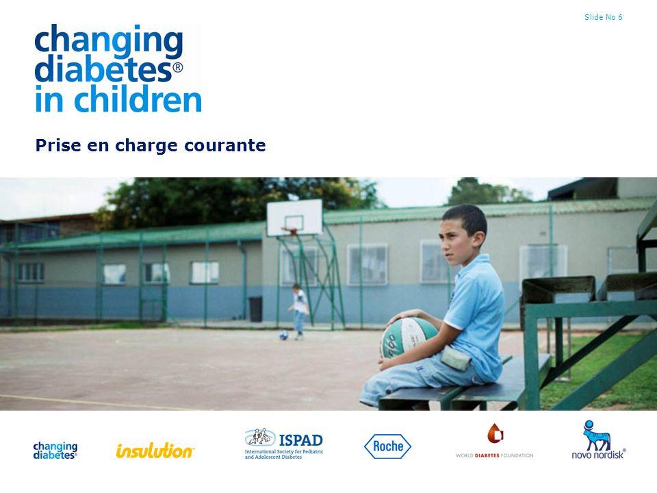Slide No 17 Organisation au niveau national Centres d excellence Centres tertiaires Centres de référence Centres régionaux Centres de soins primaires Personnes responsables du programme