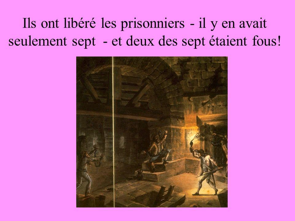 A 17 heures, de Launey a capitulé. La foule a gagné le contrôle de la forteresse. 98 membres du peuple parisien sont morts. Les révolutionnaires ont m