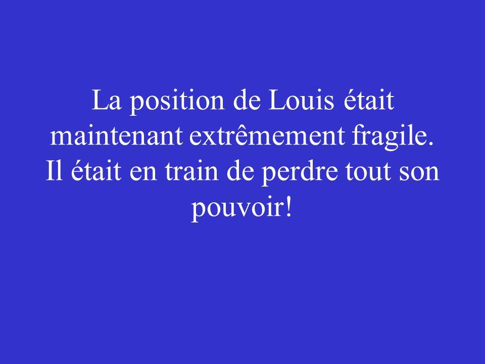 Ce nétait pas pour libérer les prisonniers, cétait surtout pour prendre les armes pour se défendre contre les troupes de Louis.