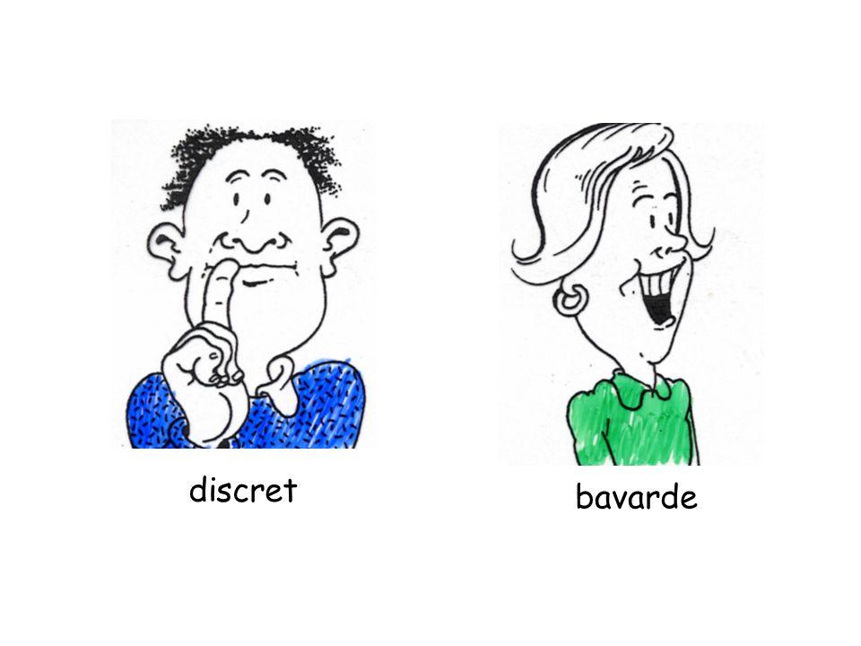 discret bavarde
