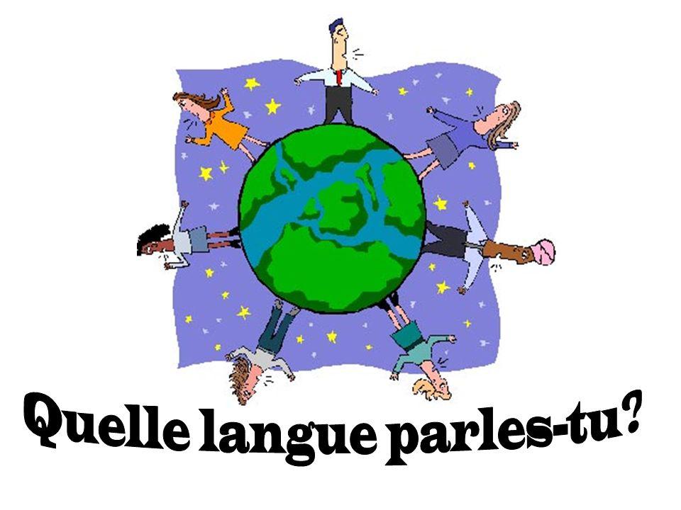 Je parle anglais et un peu espagnol Je parle anglais, français et allemand Je parle anglais, espagnol et japonais