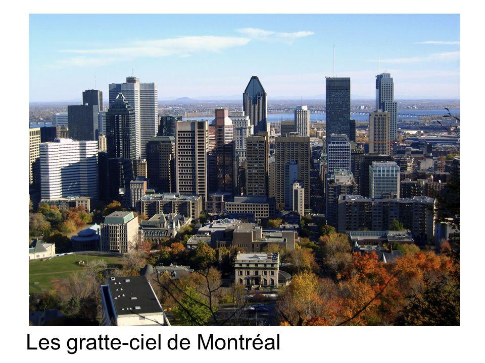 Les gratte-ciel de Montréal
