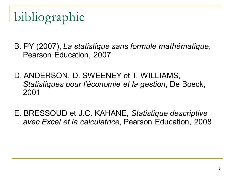 4 Introduction Quest ce que la statistique ?
