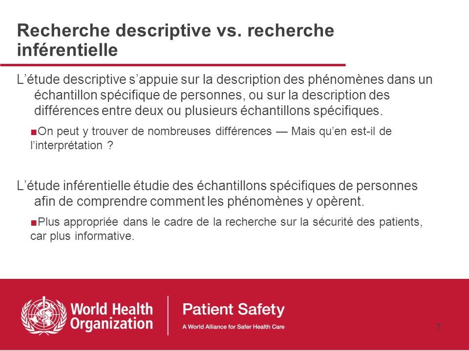6 3.Quel est le moment raisonnable pour réaliser une étude observationnelle? a.Lorsque le Comité de Protection des personnes (France) l'exige b.Lorsqu