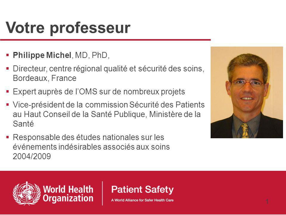 Comment mesurer les risques associés aux soins ? Philippe Michel, MD, PhD 3 février 2011 …nous avons tendance à mettre laccent sur ce qui est mesuré J