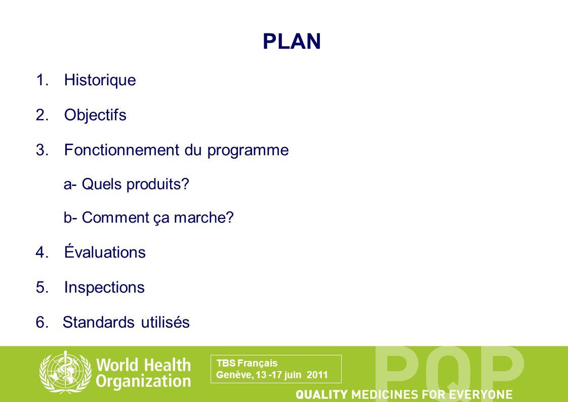 Substances actives préqualifiées: TBS Français Genève, 13 -17 juin 2011 3.