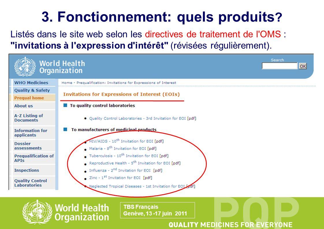 -PRÉQUALIFICATION DE MÉDICAMENTS Produits génériques (multisource): dossier complet requis (parties qualité substance active/produit fini + bioéquivalence) et inspection.