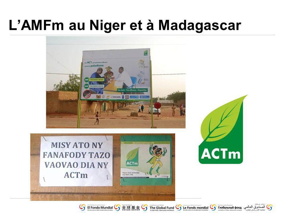 LAMFm au Niger et à Madagascar