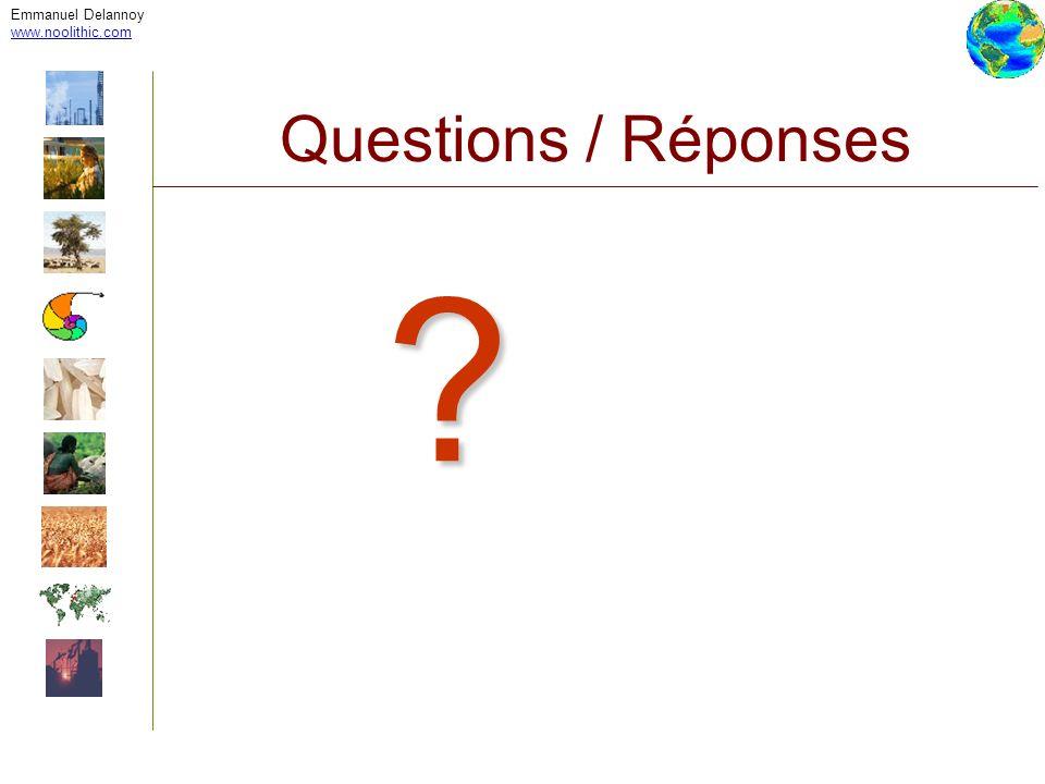 Emmanuel Delannoy www.noolithic.com Questions / Réponses ?