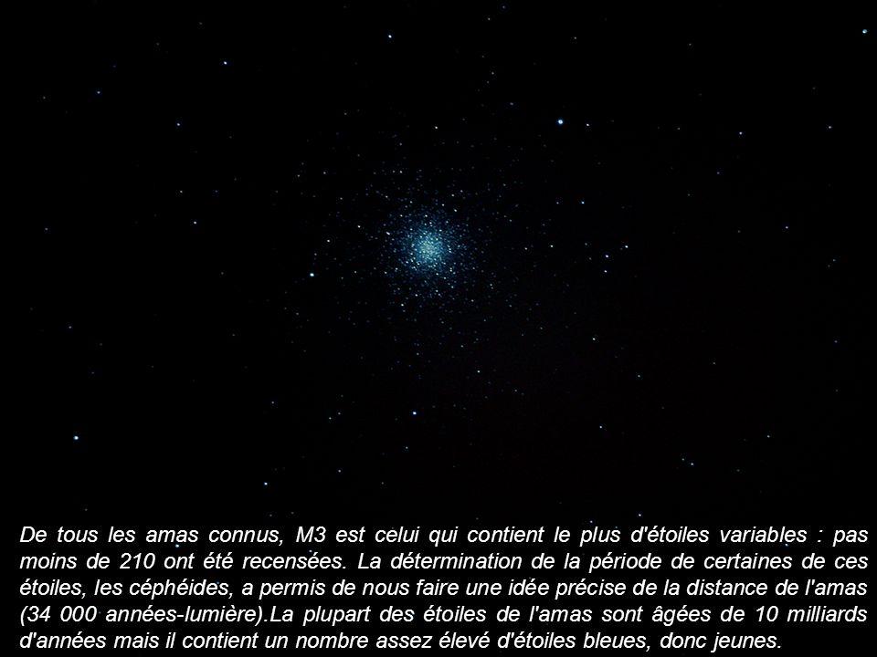 De tous les amas connus, M3 est celui qui contient le plus d'étoiles variables : pas moins de 210 ont été recensées. La détermination de la période de