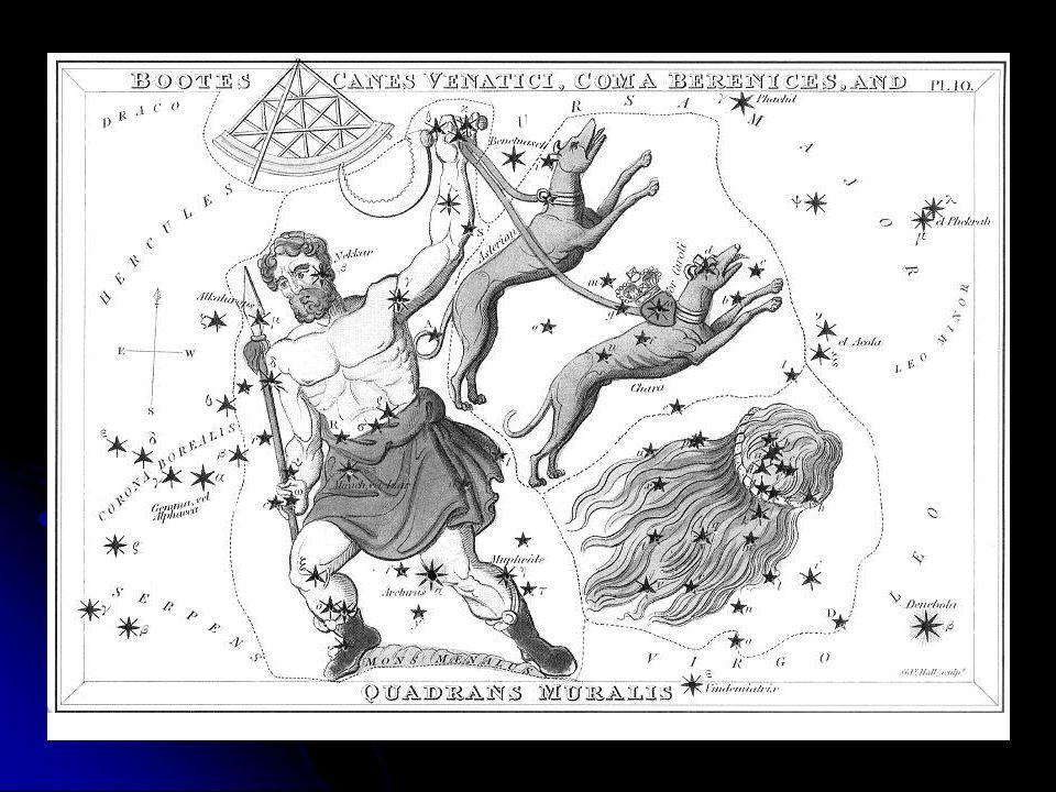 Les chiens dArtémis Une autre version raconte quil aurait été transformé en létoile la plus brillante de la constellation du Bouvier, Arcturus (qui signifie le gardien de lours), afin de veiller sur sa mère.
