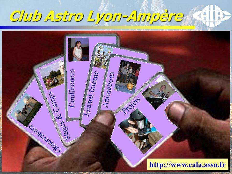 © Olivier THIZY / CALA & AstroQueyras - 2003 Club Astro Lyon-Ampère http://www.cala.asso.fr