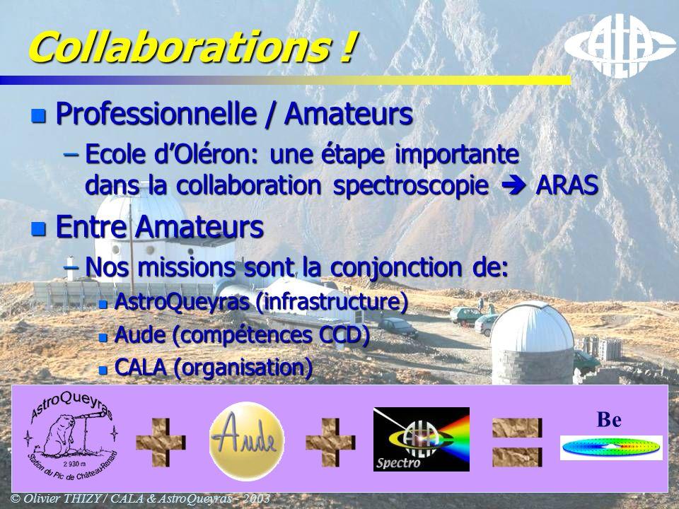 © Olivier THIZY / CALA & AstroQueyras - 2003 MUSICOS