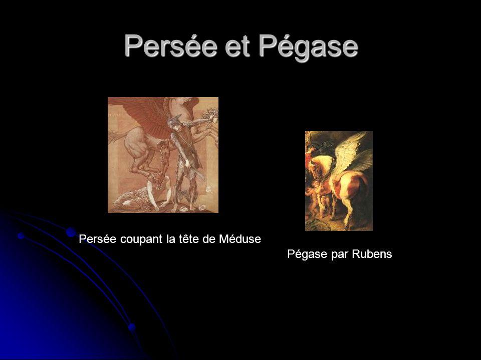 Persée et Pégase Pégase par Rubens Persée coupant la tête de Méduse