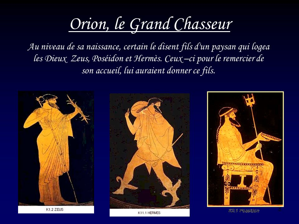 14 Orion, le Grand Chasseur
