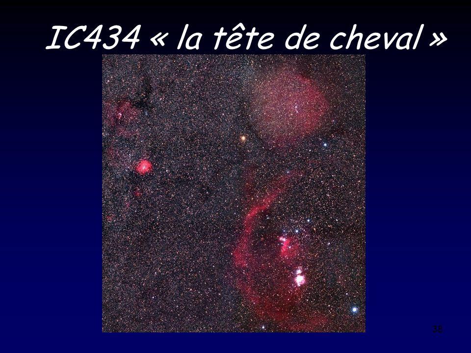 38 IC434 « la tête de cheval »
