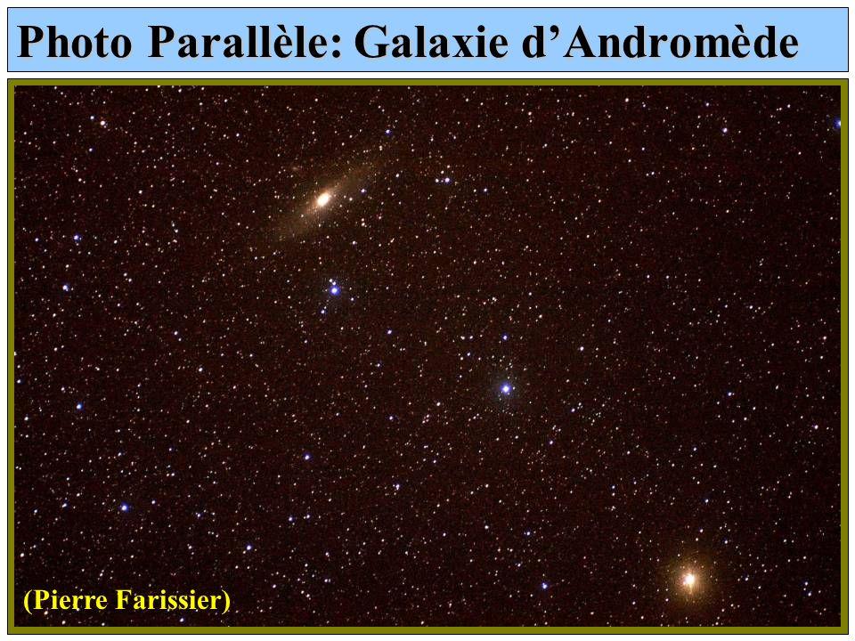 Photo Parallèle: Galaxie dAndromède (Pierre Farissier)