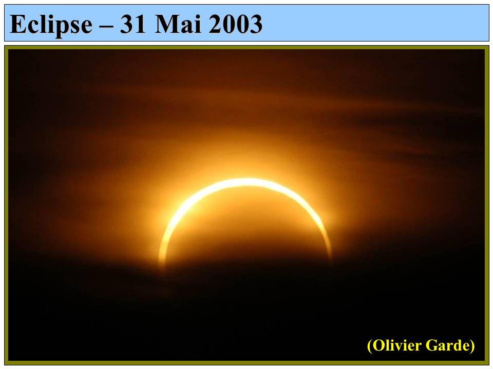 Eclipse – 31 Mai 2003