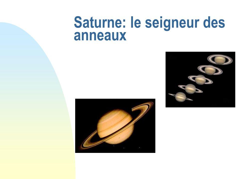 Saturne: le seigneur des anneaux
