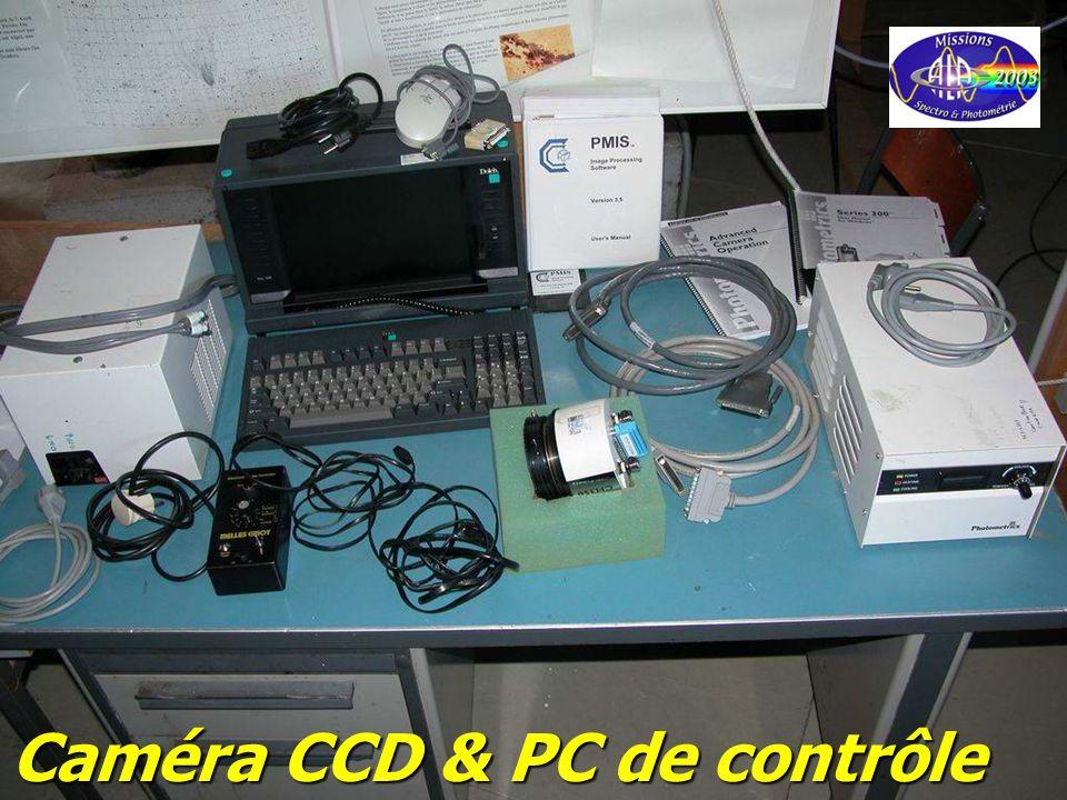 © Olivier THIZY / CALA & AstroQueyras - 2003 Caméra CCD & PC de contrôle