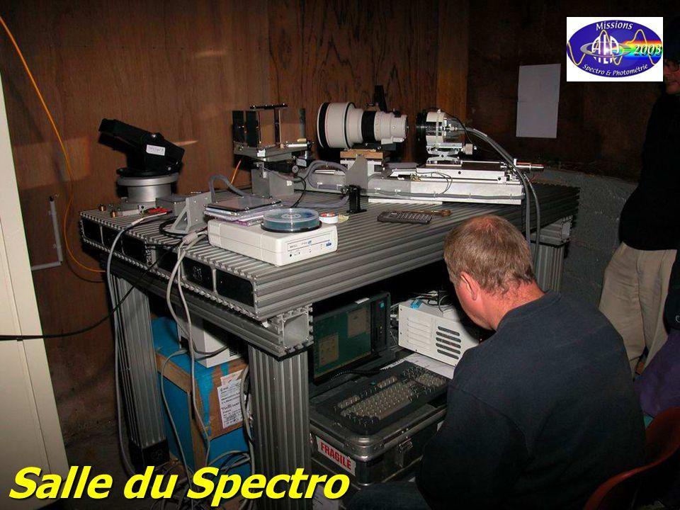 © Olivier THIZY / CALA & AstroQueyras - 2003 Salle du Spectro