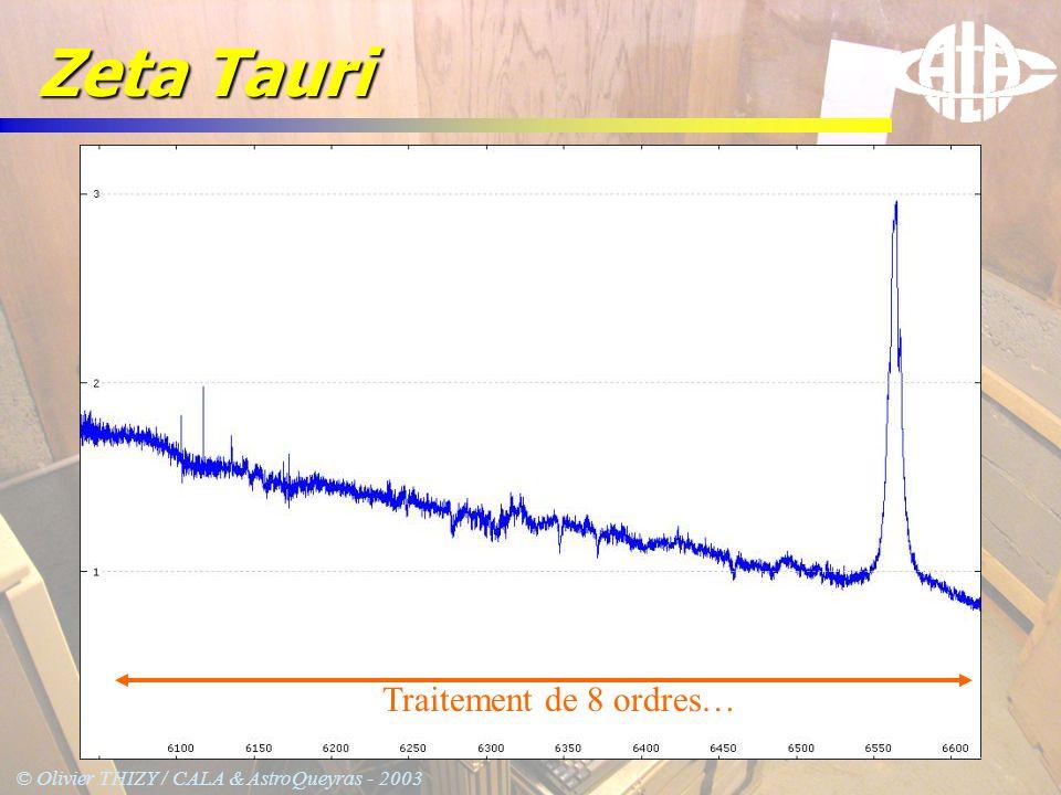 © Olivier THIZY / CALA & AstroQueyras - 2003 Zeta Tauri Traitement de 8 ordres…