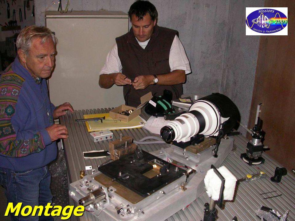 © Olivier THIZY / CALA & AstroQueyras - 2003 Montage