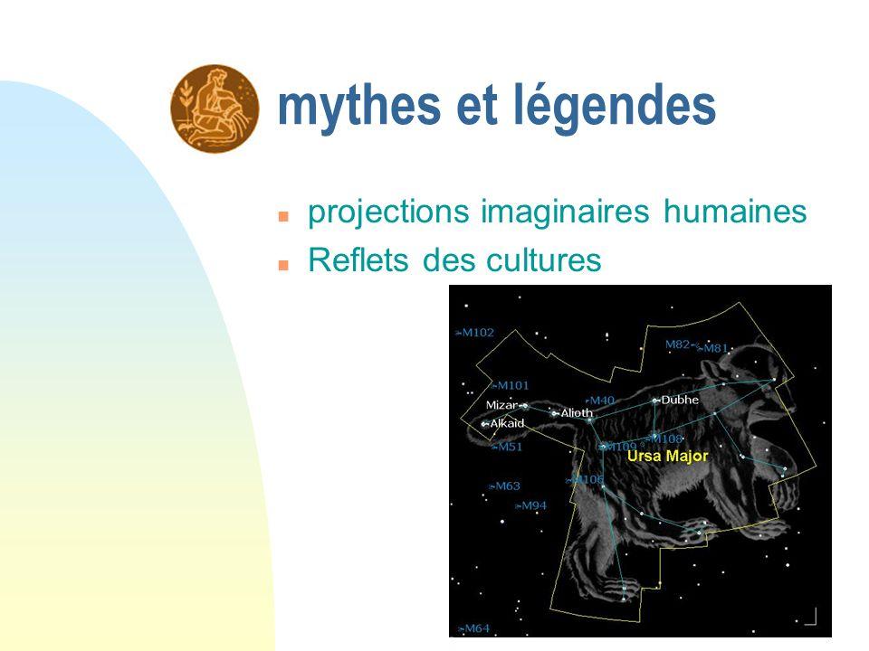 mythes et légendes projections imaginaires humaines Reflets des cultures