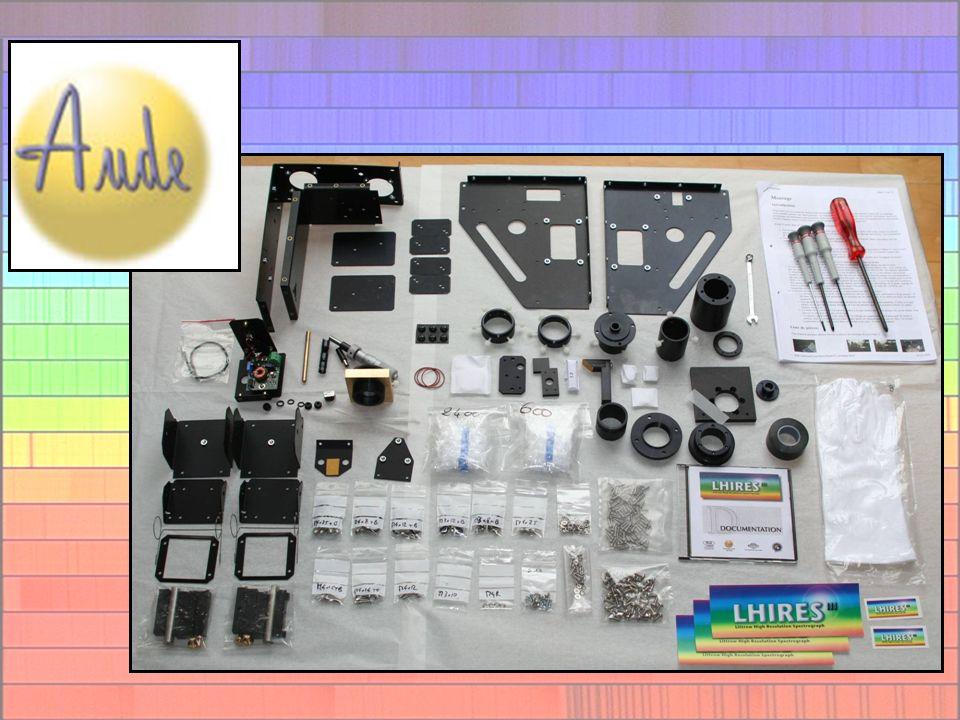 Cahier des charges Haute résolution Optimisé pour des petits instruments Economique Simplicité de mise en œuvre Compatible avec de nombreux instruments (Télescope, caméras CCD, guidage…) –Taille –Poids –Tirage caméra CCD… et APN .