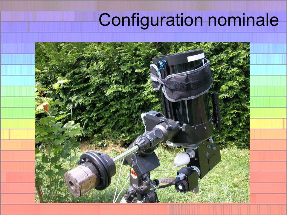Configuration nominale