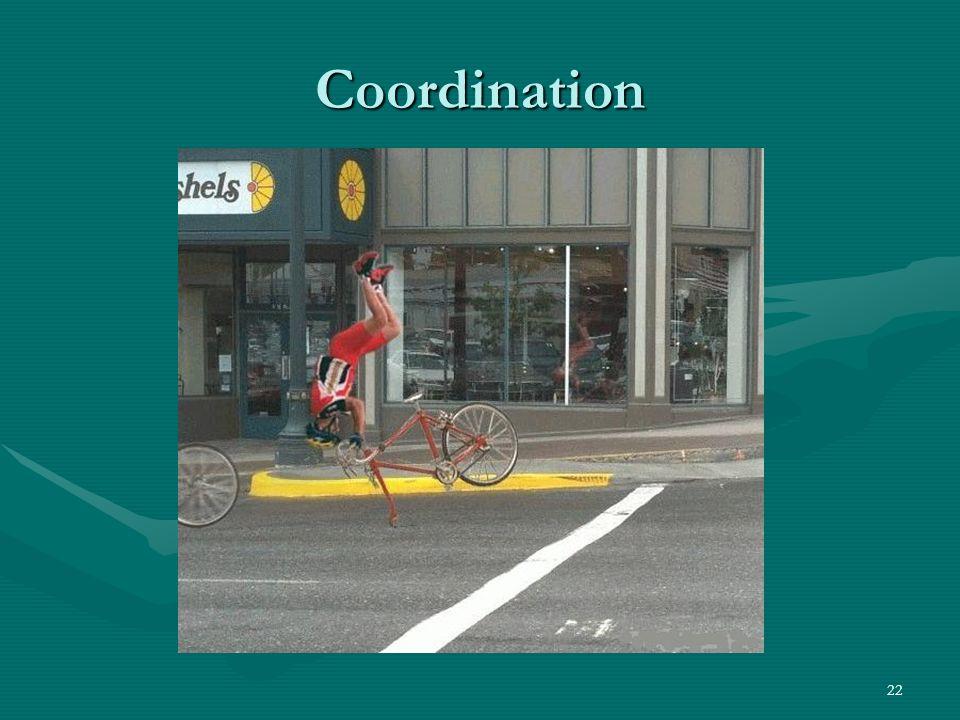 22 Coordination