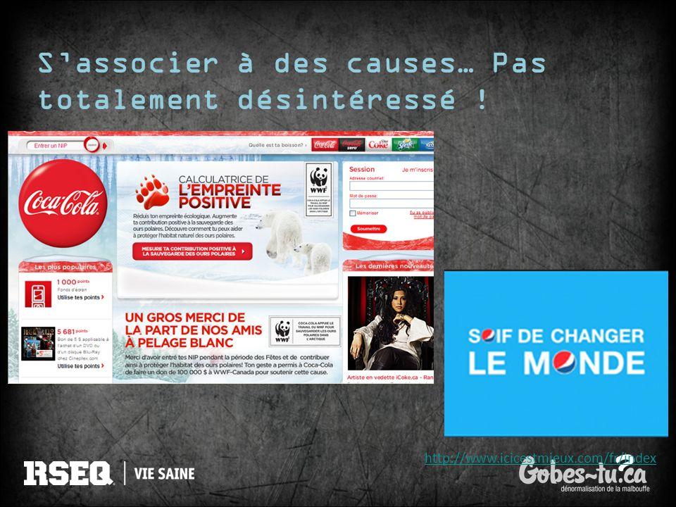 Sassocier à des causes… Pas totalement désintéressé ! http://www.icicestmieux.com/fr/index