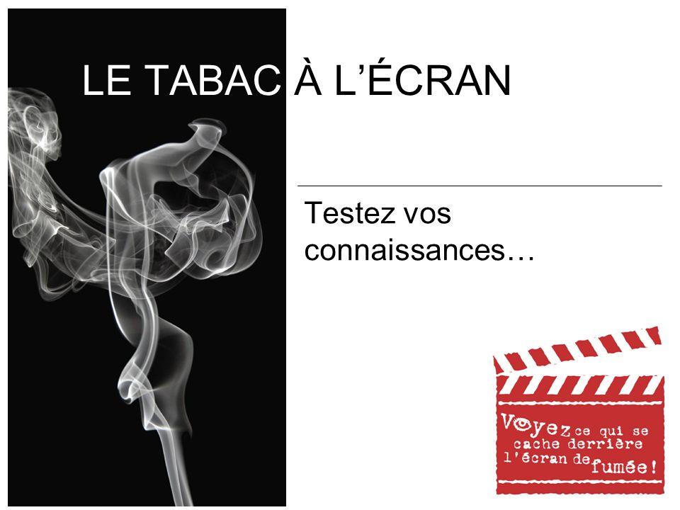 1) Selon-vous, fume-t-on plus ou moins au cinéma quil y a 20 ans .