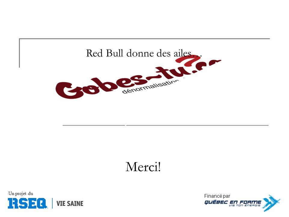 Financé par Un projet du Merci! Red Bull donne des ailes…